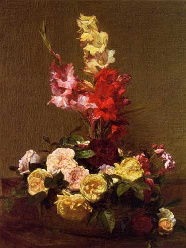 6807 Henri fantin-latour paintings oil paintings for sale