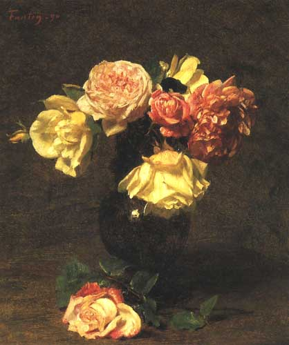 6818 Henri fantin-latour paintings oil paintings for sale
