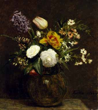 6825 Henri fantin-latour paintings oil paintings for sale