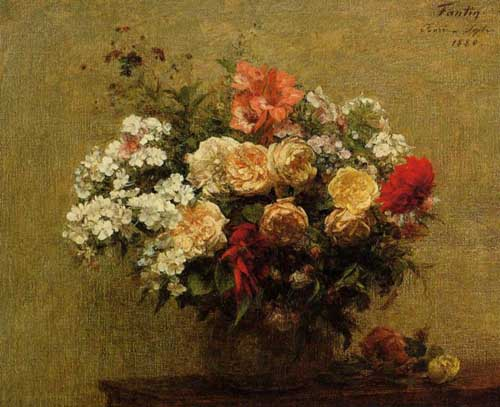 6841 Henri fantin-latour paintings oil paintings for sale