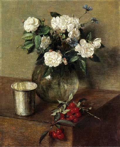 6843 Henri fantin-latour paintings oil paintings for sale