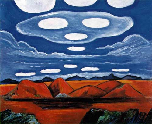 Oil Paintings Production:Marsden Hartley: Carnelian Country hspace=