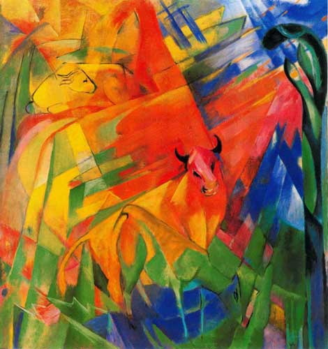 70211 Franz Marc Paintings oil paintings for sale
