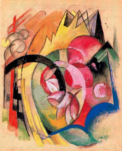 70213 Franz Marc Paintings oil paintings for sale