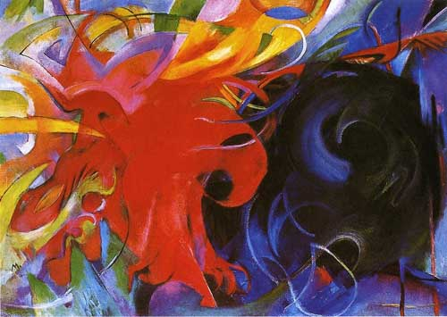 70216 Franz Marc Paintings oil paintings for sale