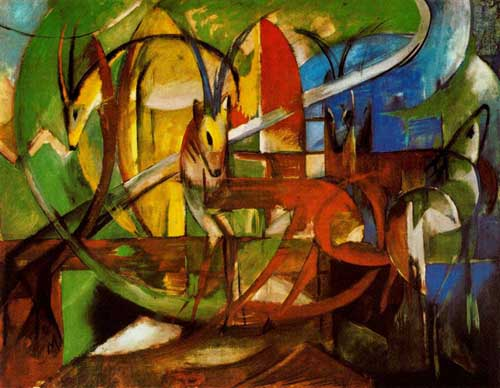 70217 Franz Marc Paintings oil paintings for sale