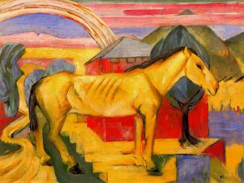 70219 Franz Marc Paintings oil paintings for sale
