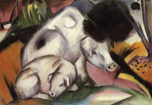 70221 Franz Marc Paintings oil paintings for sale