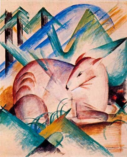 70227 Franz Marc Paintings oil paintings for sale