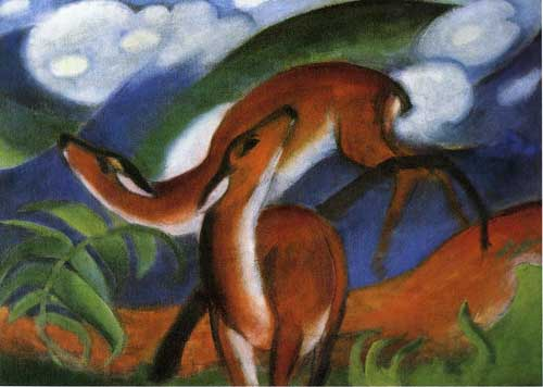 70228 Franz Marc Paintings oil paintings for sale
