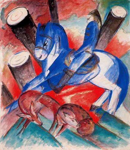 70229 Franz Marc Paintings oil paintings for sale