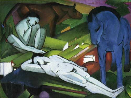 70230 Franz Marc Paintings oil paintings for sale