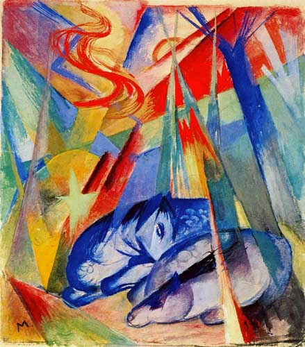70231 Franz Marc Paintings oil paintings for sale