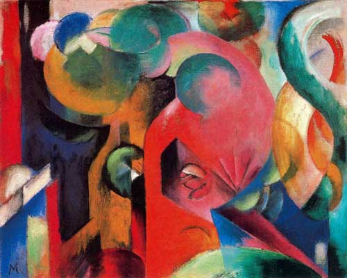 70232 Franz Marc Paintings oil paintings for sale