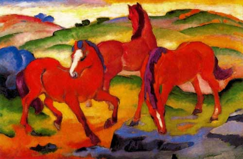 70234 Franz Marc Paintings oil paintings for sale