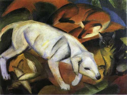 70235 Franz Marc Paintings oil paintings for sale