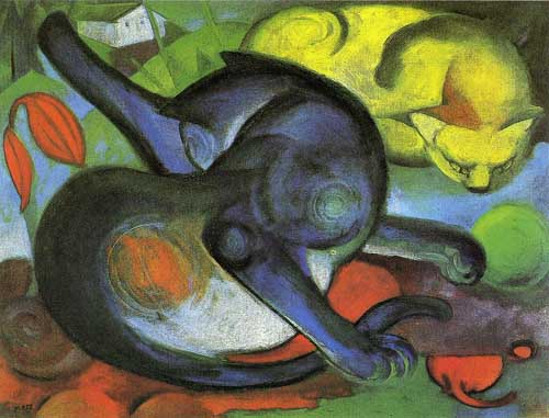 70236 Franz Marc Paintings oil paintings for sale