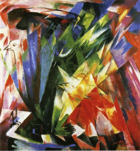70307 Franz Marc Paintings oil paintings for sale