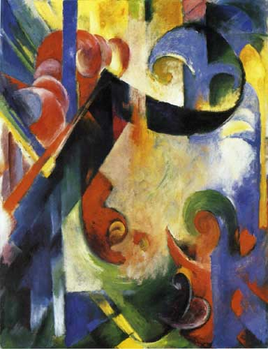 70308 Franz Marc Paintings oil paintings for sale