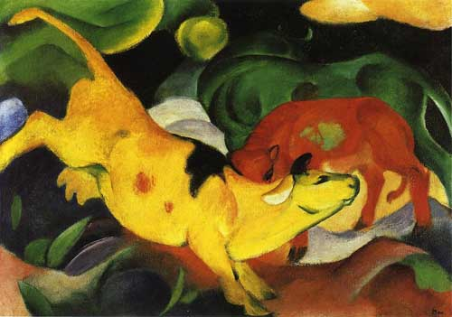 70309 Franz Marc Paintings oil paintings for sale