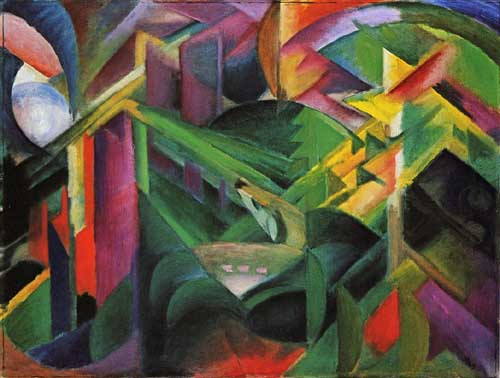 70310 Franz Marc Paintings oil paintings for sale