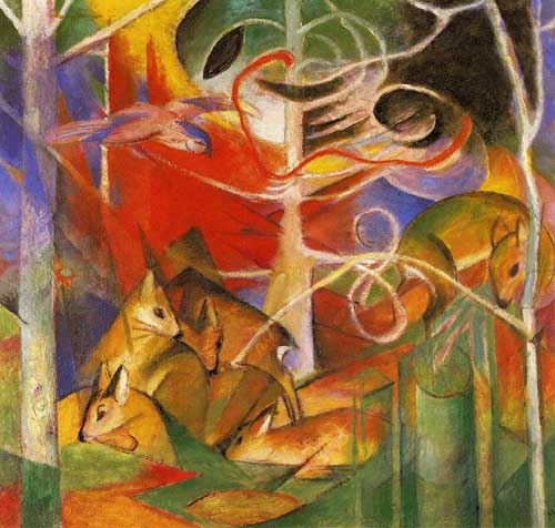 70311 Franz Marc Paintings oil paintings for sale
