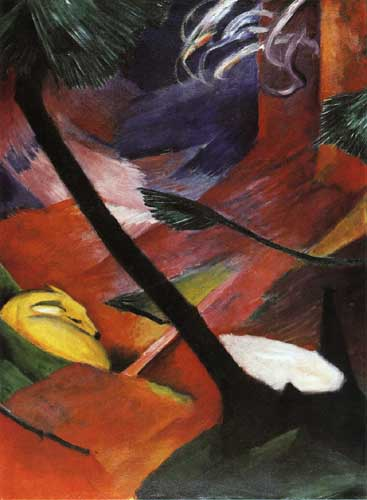 70312 Franz Marc Paintings oil paintings for sale