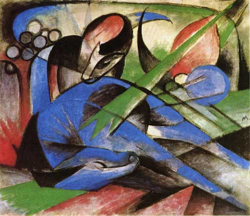 70313 Franz Marc Paintings oil paintings for sale
