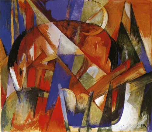 70314 Franz Marc Paintings oil paintings for sale