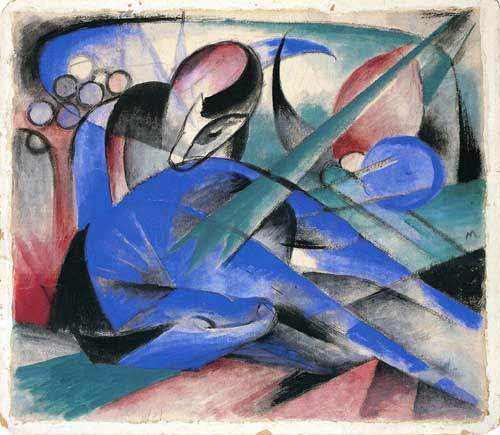 70315 Franz Marc Paintings oil paintings for sale