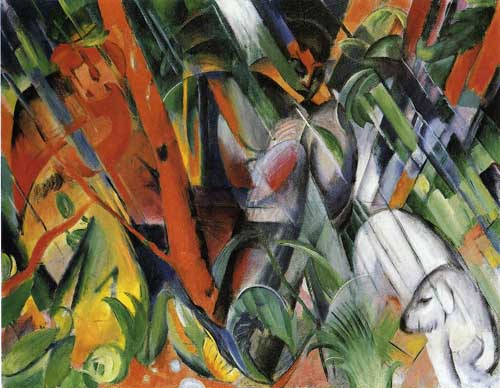 70316 Franz Marc Paintings oil paintings for sale