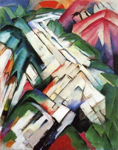 70317 Franz Marc Paintings oil paintings for sale