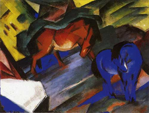 70320 Franz Marc Paintings oil paintings for sale