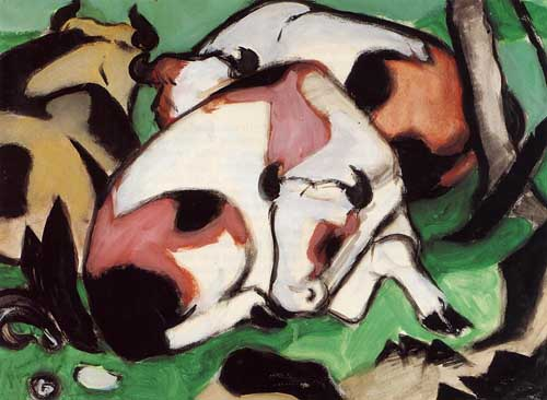 70321 Franz Marc Paintings oil paintings for sale