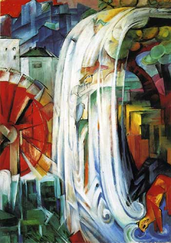 70325 Franz Marc Paintings oil paintings for sale