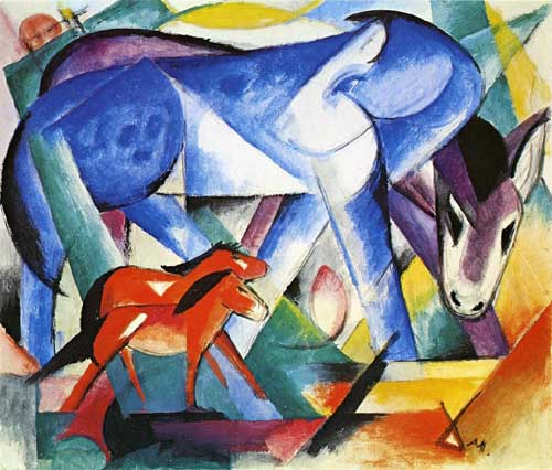 70326 Franz Marc Paintings oil paintings for sale