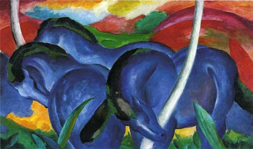 70327 Franz Marc Paintings oil paintings for sale