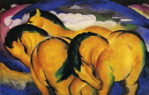 70328 Franz Marc Paintings oil paintings for sale