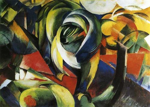 70329 Franz Marc Paintings oil paintings for sale