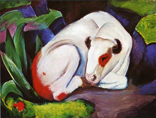 70331 Franz Marc Paintings oil paintings for sale