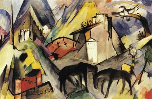 70332 Franz Marc Paintings oil paintings for sale