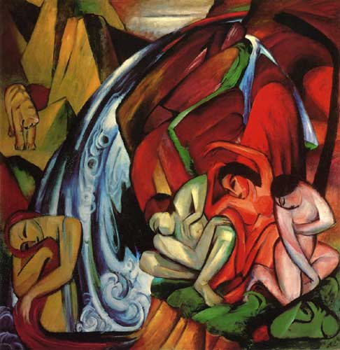 70333 Franz Marc Paintings oil paintings for sale