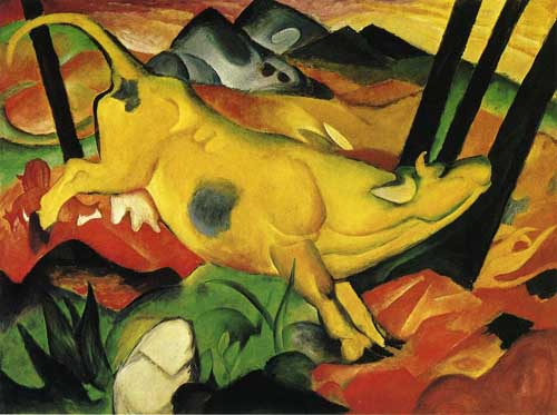 70335 Franz Marc Paintings oil paintings for sale