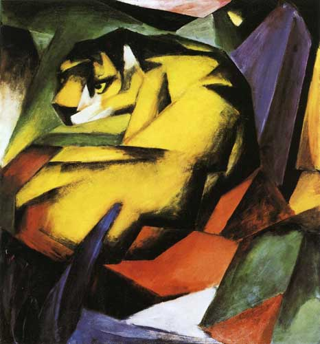 70337 Franz Marc Paintings oil paintings for sale