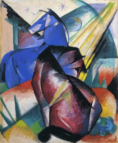 70339 Franz Marc Paintings oil paintings for sale