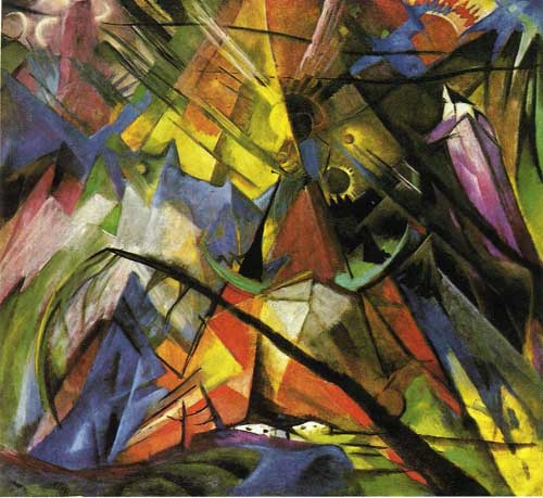 70340 Franz Marc Paintings oil paintings for sale