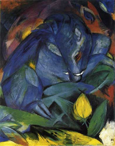 70341 Franz Marc Paintings oil paintings for sale