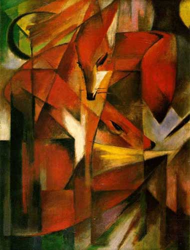 7038 Franz Marc Paintings oil paintings for sale