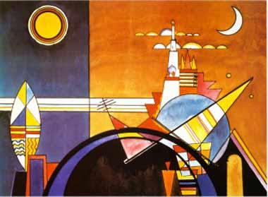 70542 Kandinsky Paintings oil paintings for sale