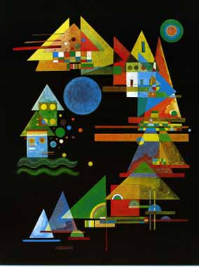 70548 Kandinsky Paintings oil paintings for sale